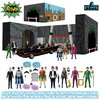DC Comics: 5 Points - Batman 1966 Deluxe Action Figure Box Set - Mezcotoys