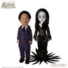 Living Dead Dolls: The Addams Family - Gomez and Morticia Action Figure Set - Mezcotoys