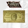 Fallout New Vegas: New California Republic 20 Dollar Bill 24k Gold Plated Replica - Fanattik