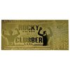 Rocky 3: Clubber Lang Fight Ticket 24k Gold Plated Replica - Fanattik