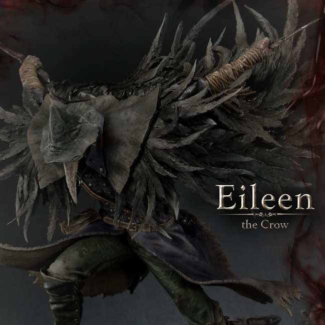 Bloodborne: The Old Hunters - Eileen The Crow Statue - Prime 1 Studio