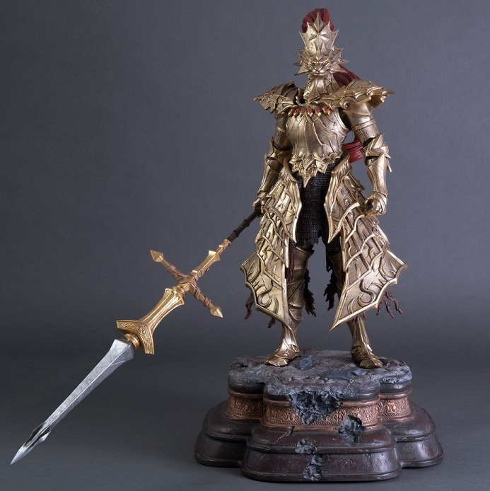 Dark Souls: Dragon Slayer Ornstein - First 4 Figures