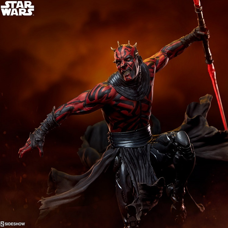 Star Wars: Mythos Darth Maul Statue - Sideshow Toys