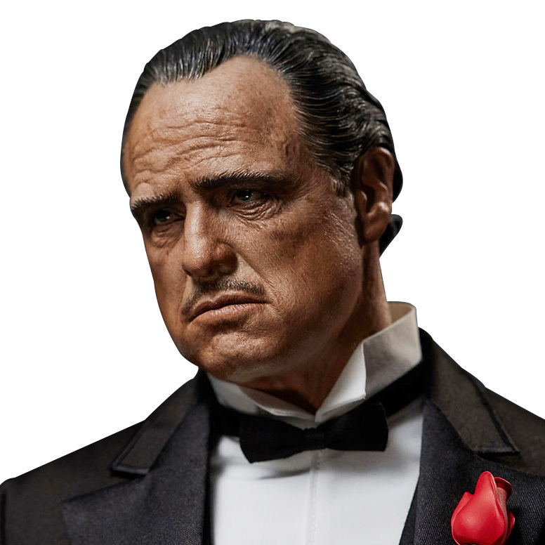 The Godfather: Vito Corleone 1:4 Scale Statue - Blitzway