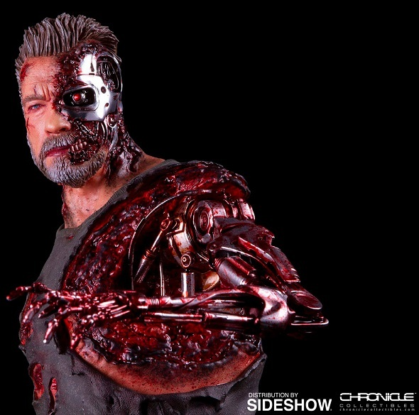 Terminator: Dark Fate - T-800 1:4 Scale Statue - Chronicle Collectibles