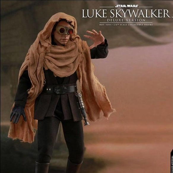 Star Wars VI: Deluxe Luke Skywalker Endor 1:6 Scale Figure - Hot Toys