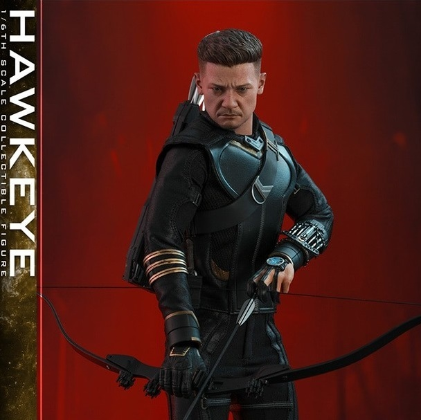 Marvel: Avengers Endgame - Deluxe Hawkeye - 1:6 Scale Figure - Hot Toys