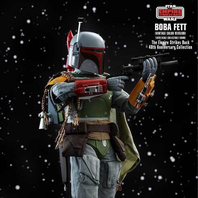 Star Wars: The Empire Strikes Back 40th Anniversary - Boba Fett 1:6 Scale Figure - Hot Toys